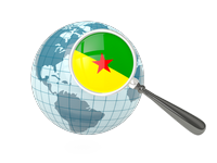 Search Websites Products and Services in French Guiana