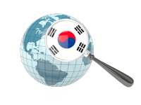 Search Websites Products and Services in South Korea