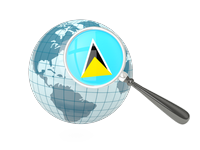 Search Websites, Products and Services in Saint Lucia